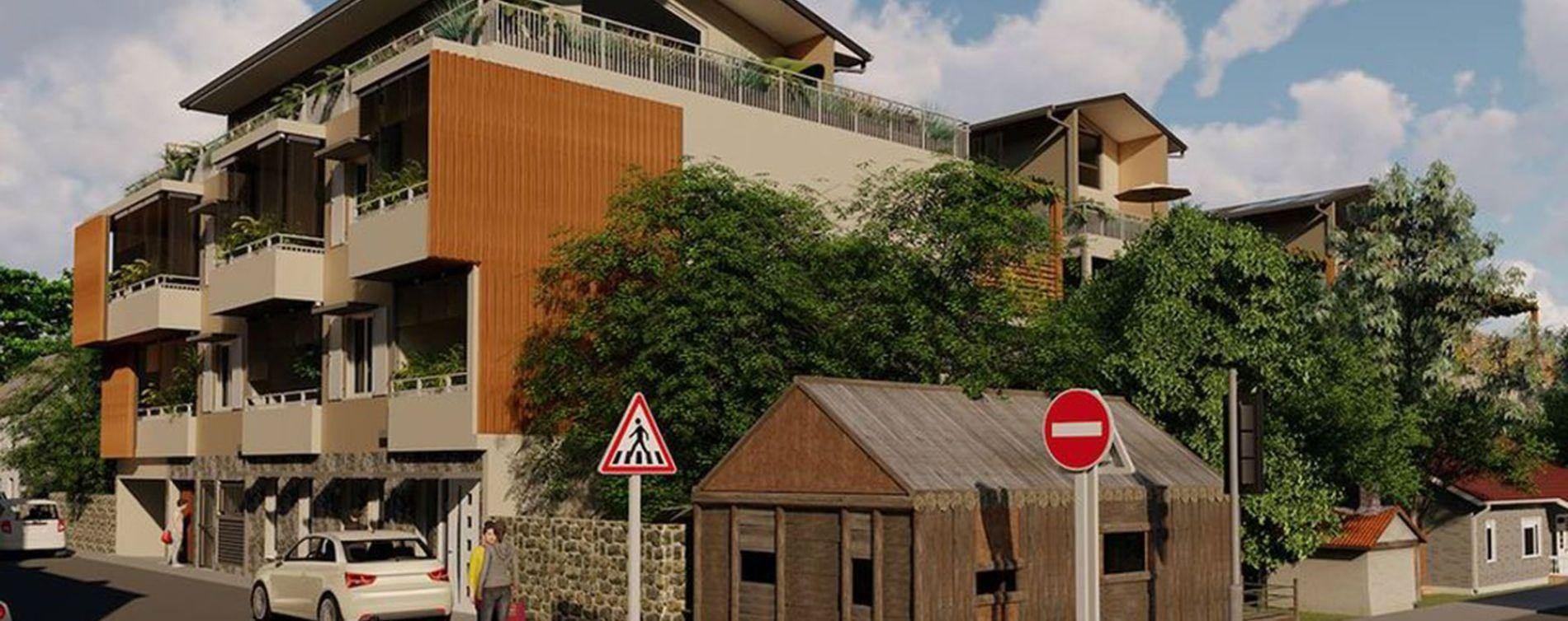 Saint-Pierre : programme immobilier neuve « Résidence Archambaud » en Loi Pinel (3)