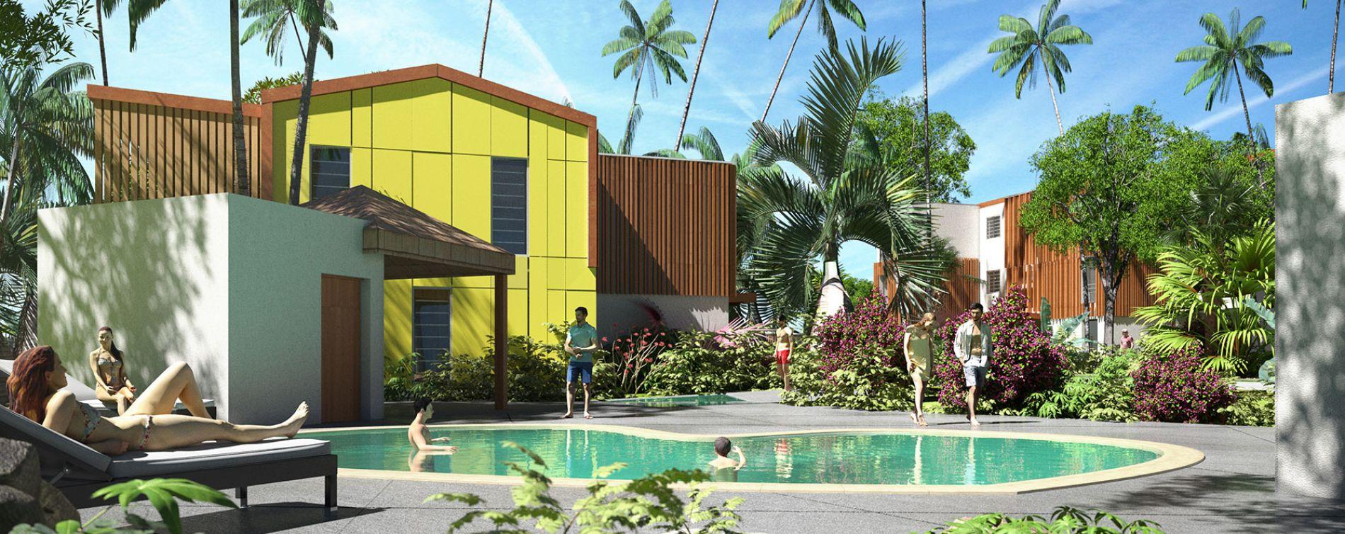 Sainte-Marie : programme immobilier neuve « Constellation » en Loi Pinel