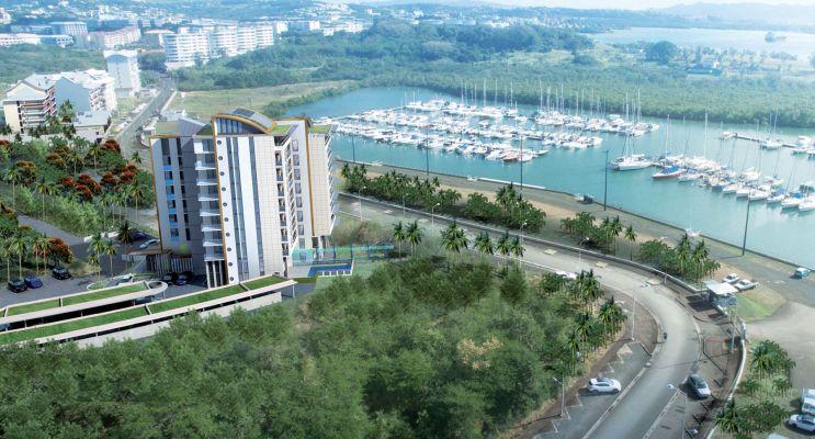 Photo n°3 du Résidence « Bleu Horizon » programme immobilier neuf en Loi Pinel à Fort-de-France