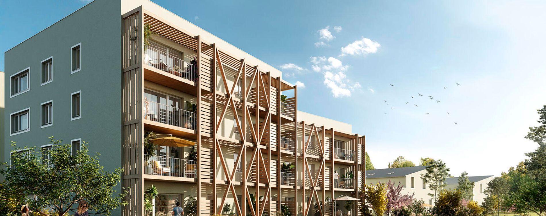 Bouguenais : programme immobilier neuve « Programme immobilier n°217879 » en Loi Pinel