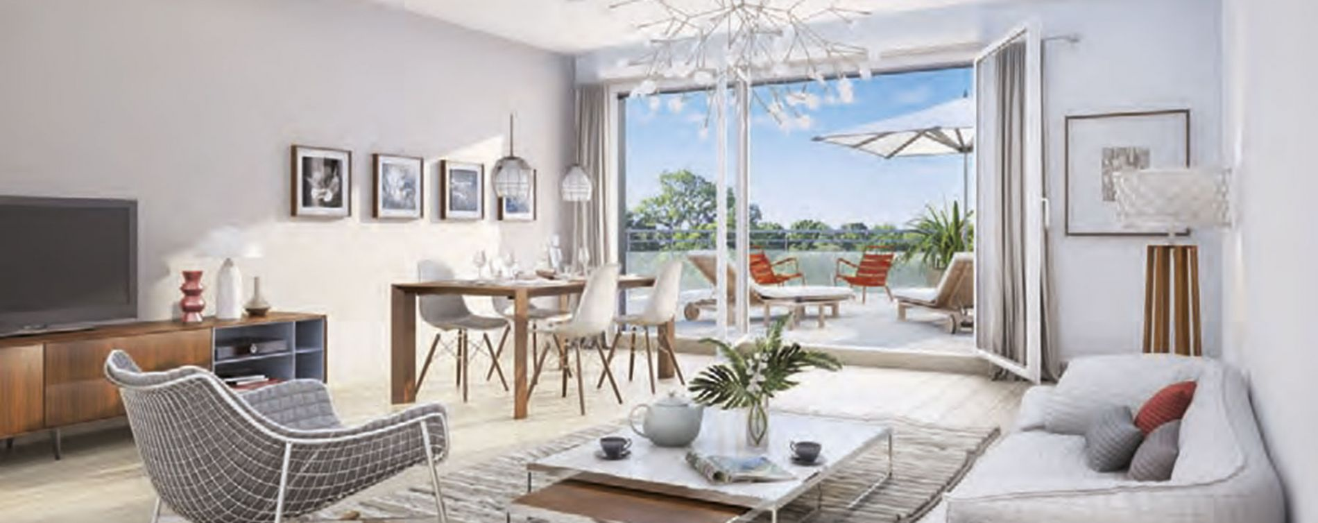 Bouguenais : programme immobilier neuve « Os'moz 2 » en Loi Pinel