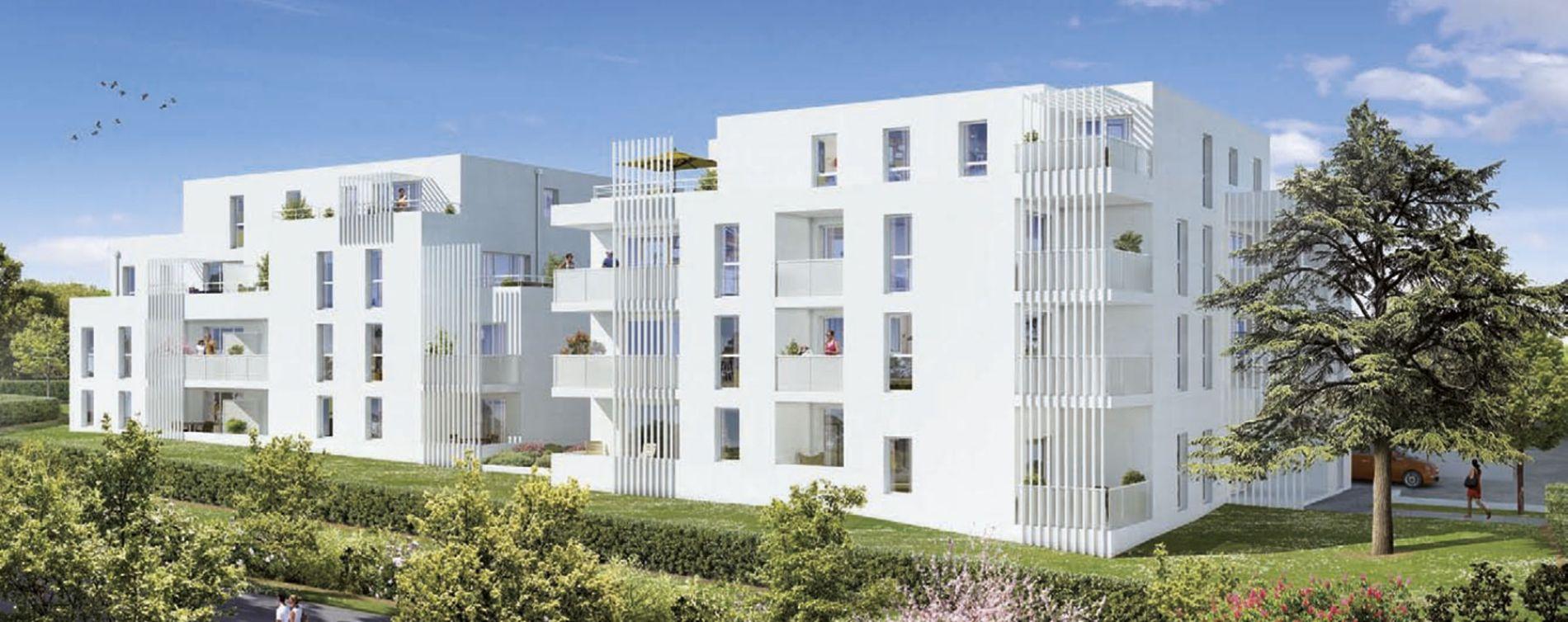 Bouguenais : programme immobilier neuve « Os'moz 2 » en Loi Pinel (2)