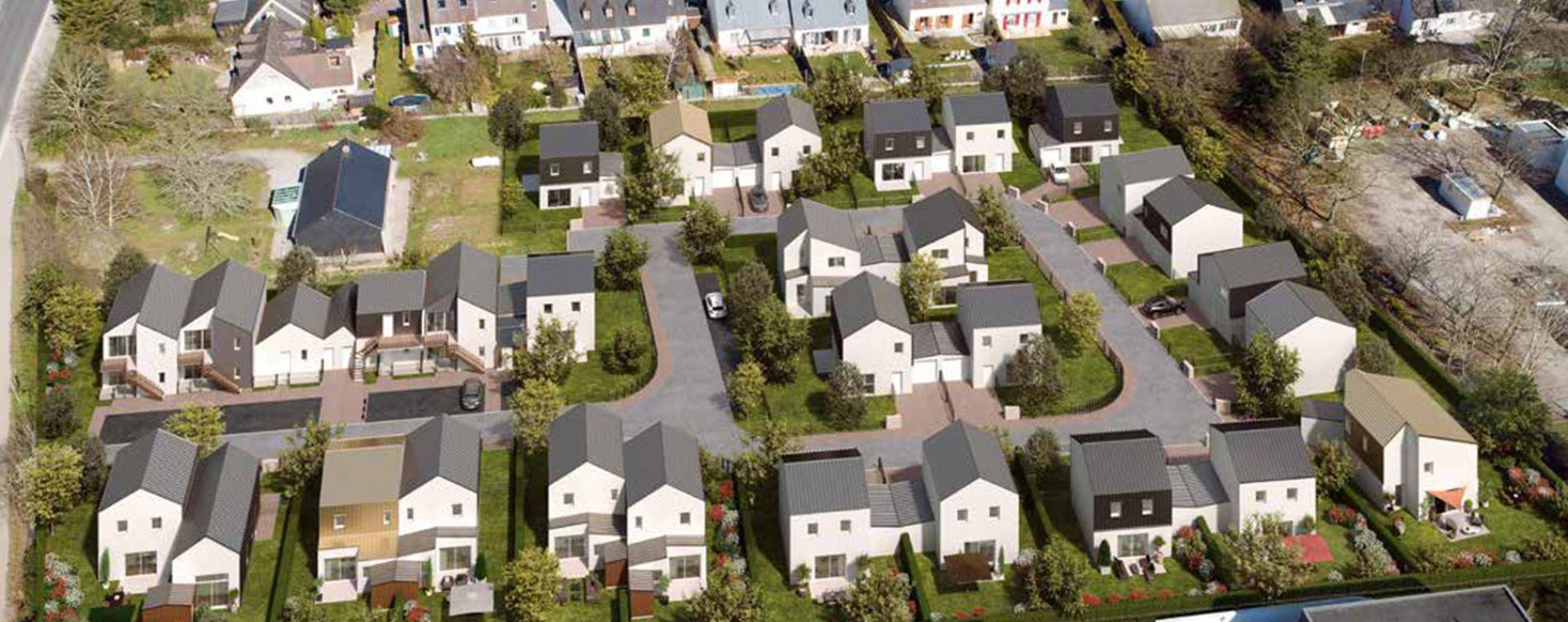 Carquefou : programme immobilier neuve « Le Clos Virens » (2)