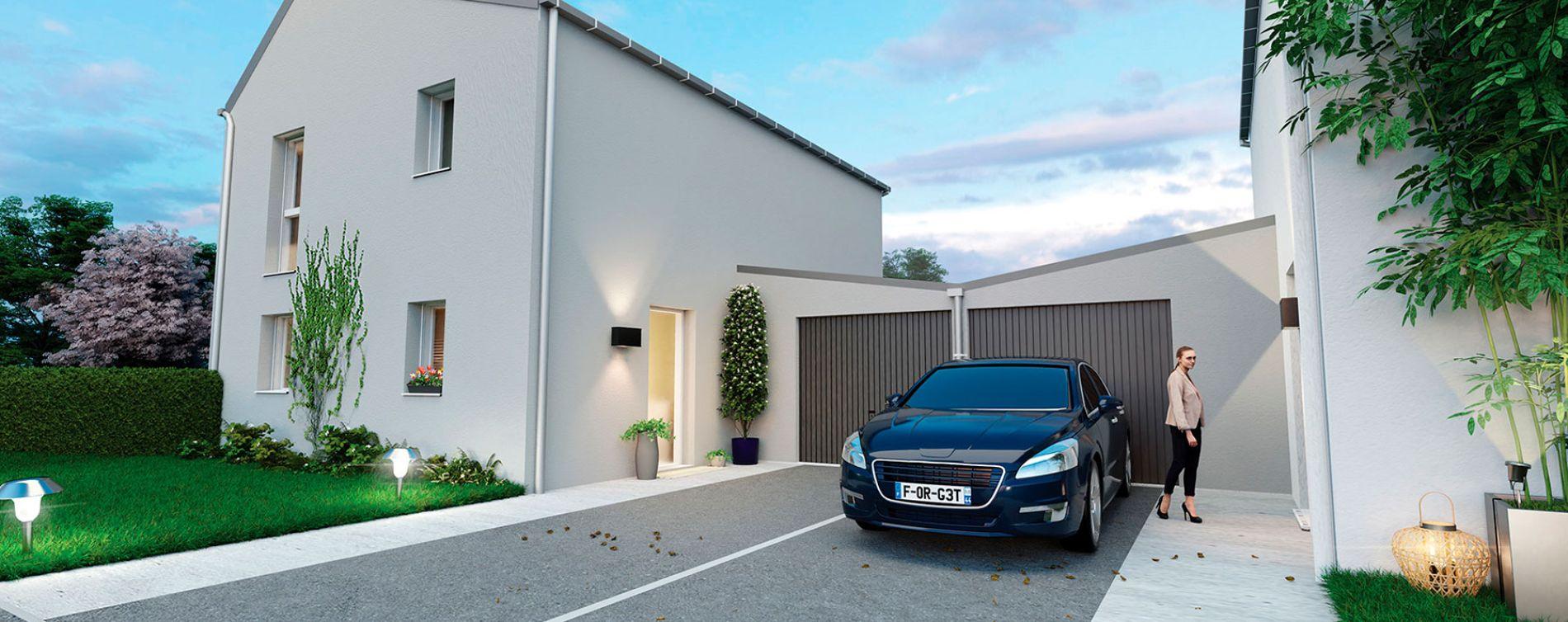 Carquefou : programme immobilier neuve « Le Domaine du Castel » en Loi Pinel (5)