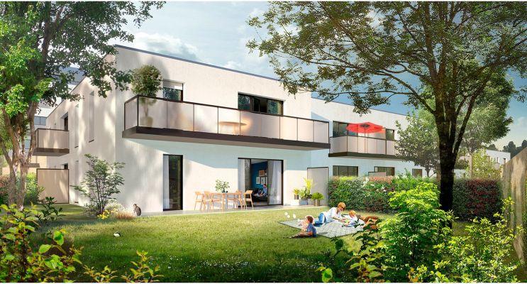Couëron : programme immobilier neuf « Affluence » en Loi Pinel