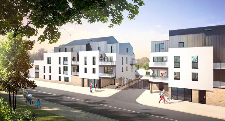 Photo du Résidence « Affluence » programme immobilier neuf en Loi Pinel à Couëron