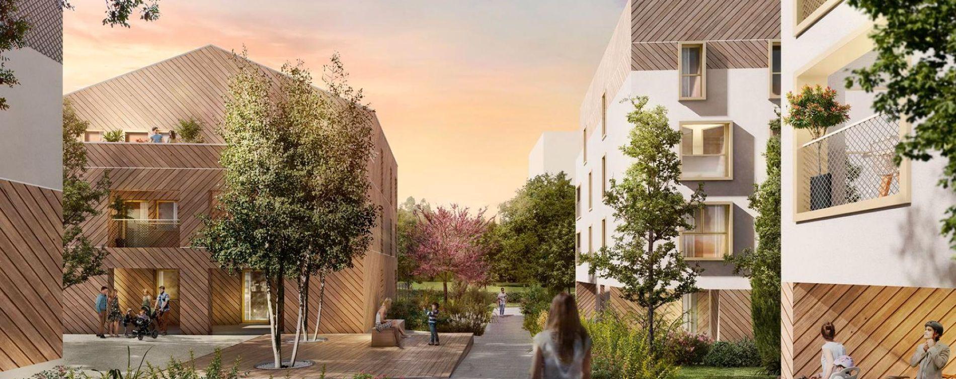 Couëron : programme immobilier neuve « Programme immobilier n°215071 »