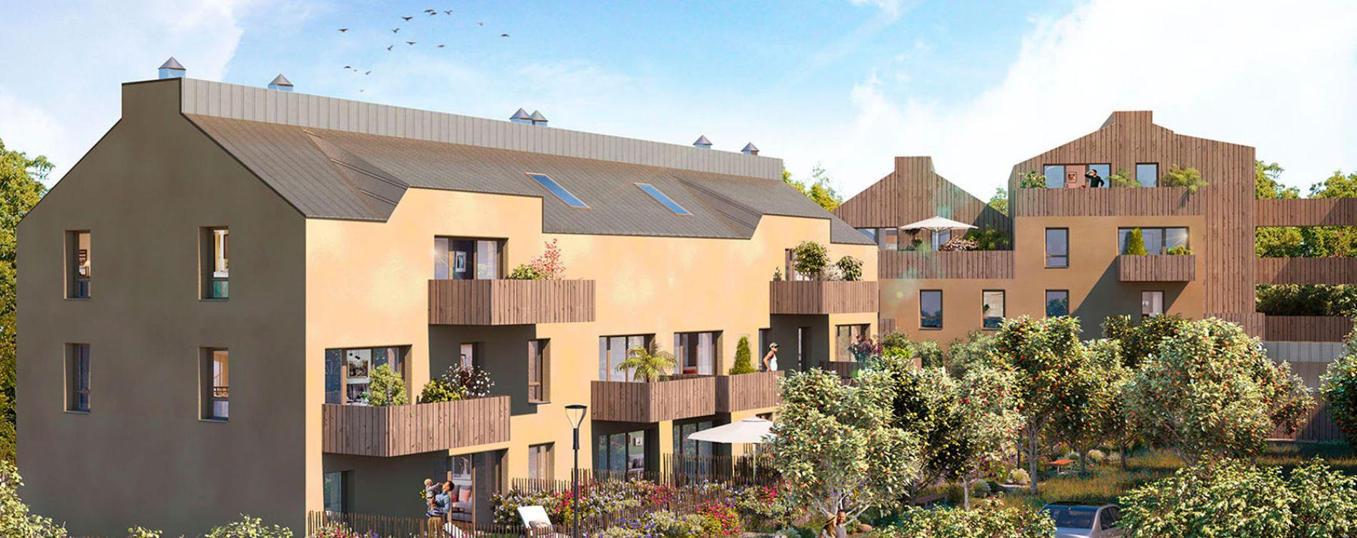 Guérande : programme immobilier neuve « Escale Nature » en Loi Pinel