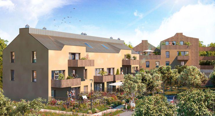 Guérande programme immobilier neuf « Escale Nature » en Loi Pinel