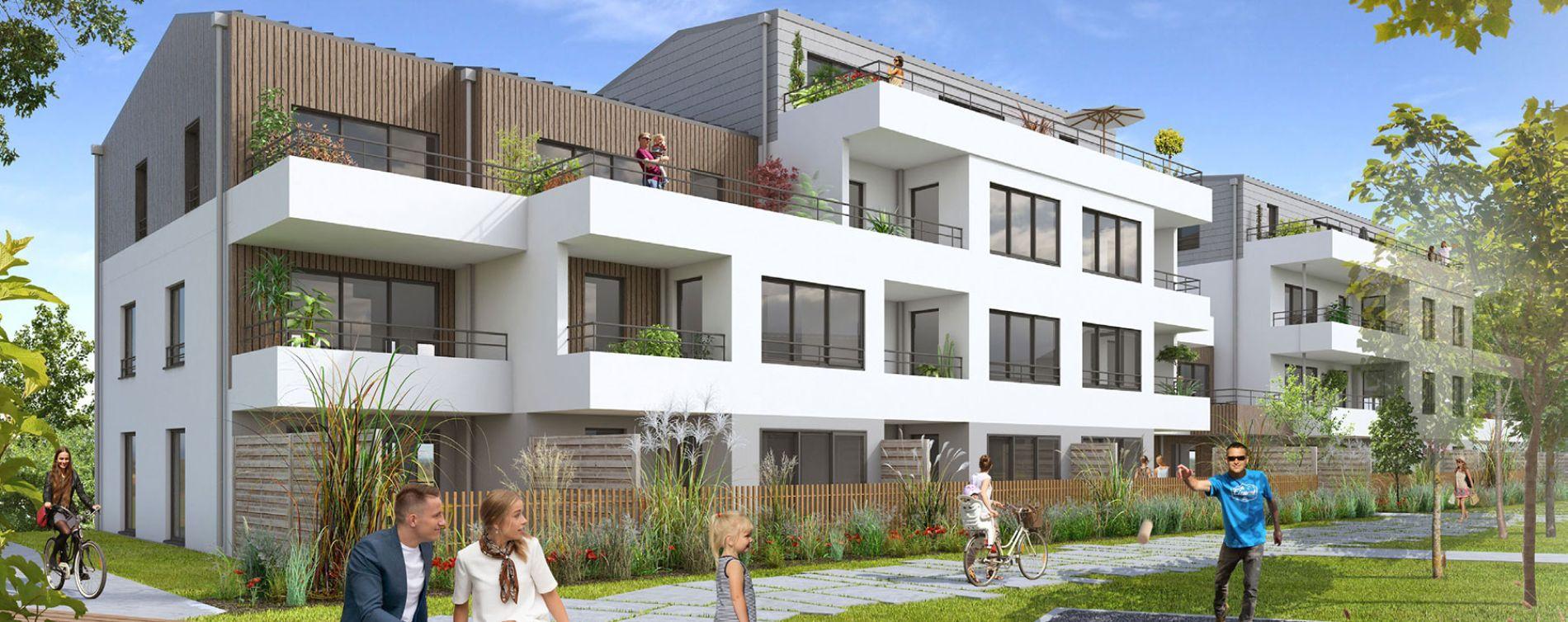 Guérande : programme immobilier neuve « Le Mauperthuis » en Loi Pinel