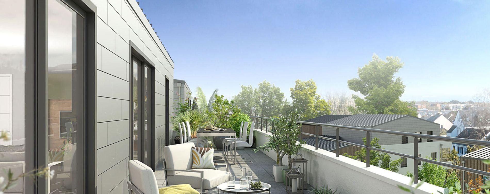 Guérande : programme immobilier neuve « Le Mauperthuis » en Loi Pinel (2)