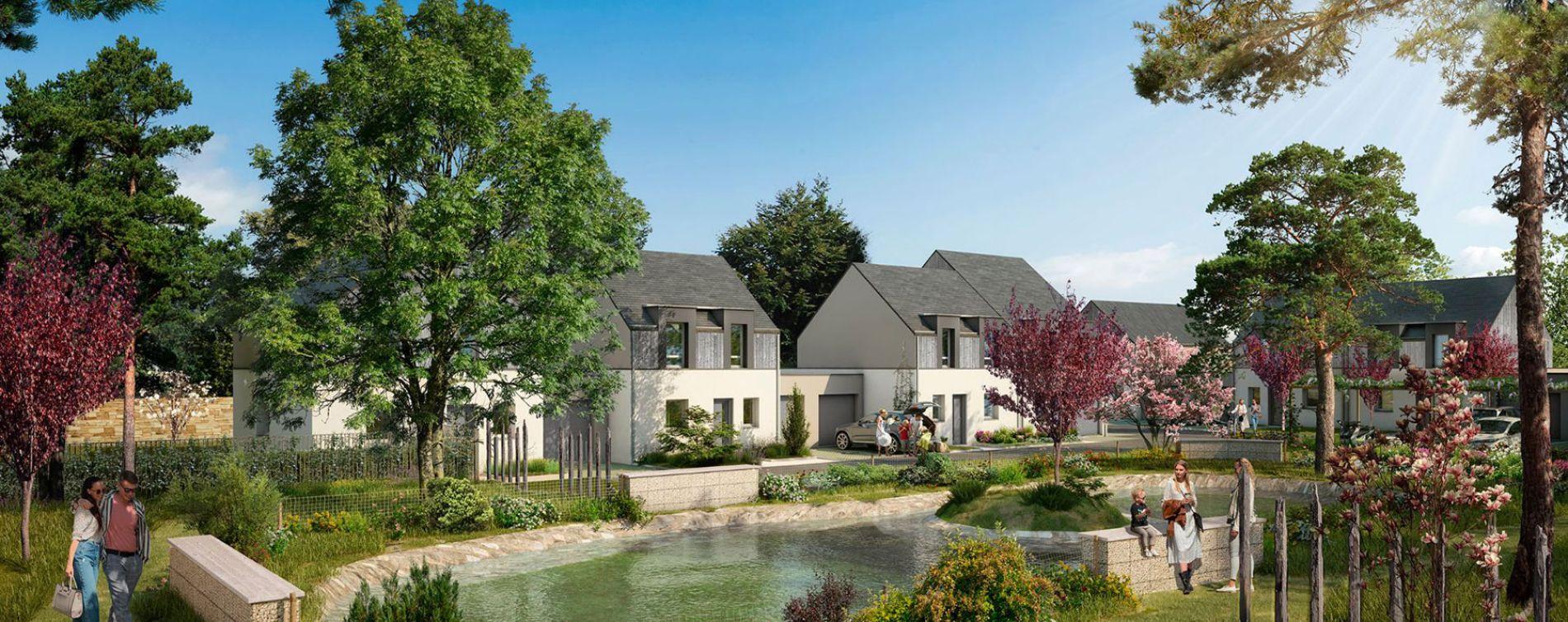 Guérande : programme immobilier neuve « Vert Saline » en Loi Pinel