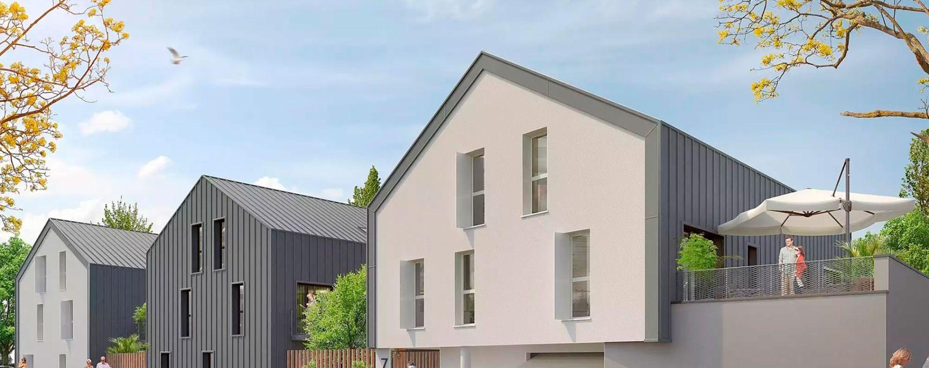 Haute-Goulaine : programme immobilier neuve « La Résidence du Centre » en Loi Pinel