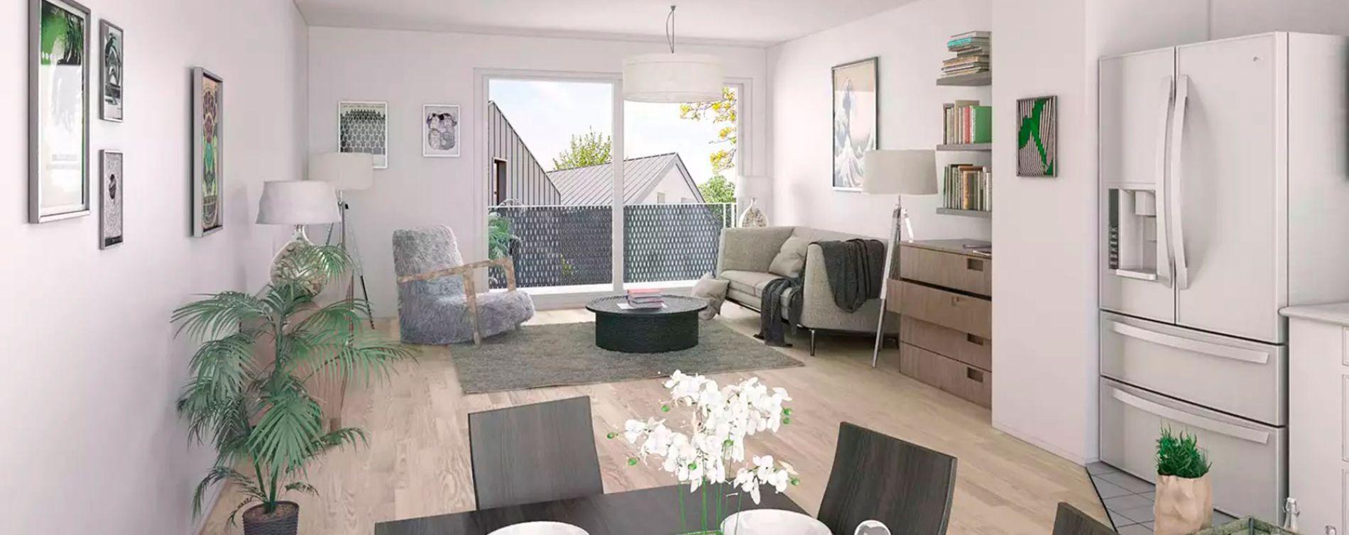 Haute-Goulaine : programme immobilier neuve « La Résidence du Centre » en Loi Pinel (2)