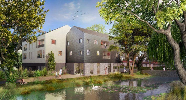 Photo du Résidence « Les Jardins du Cygne » programme immobilier neuf en Loi Pinel à Haute-Goulaine