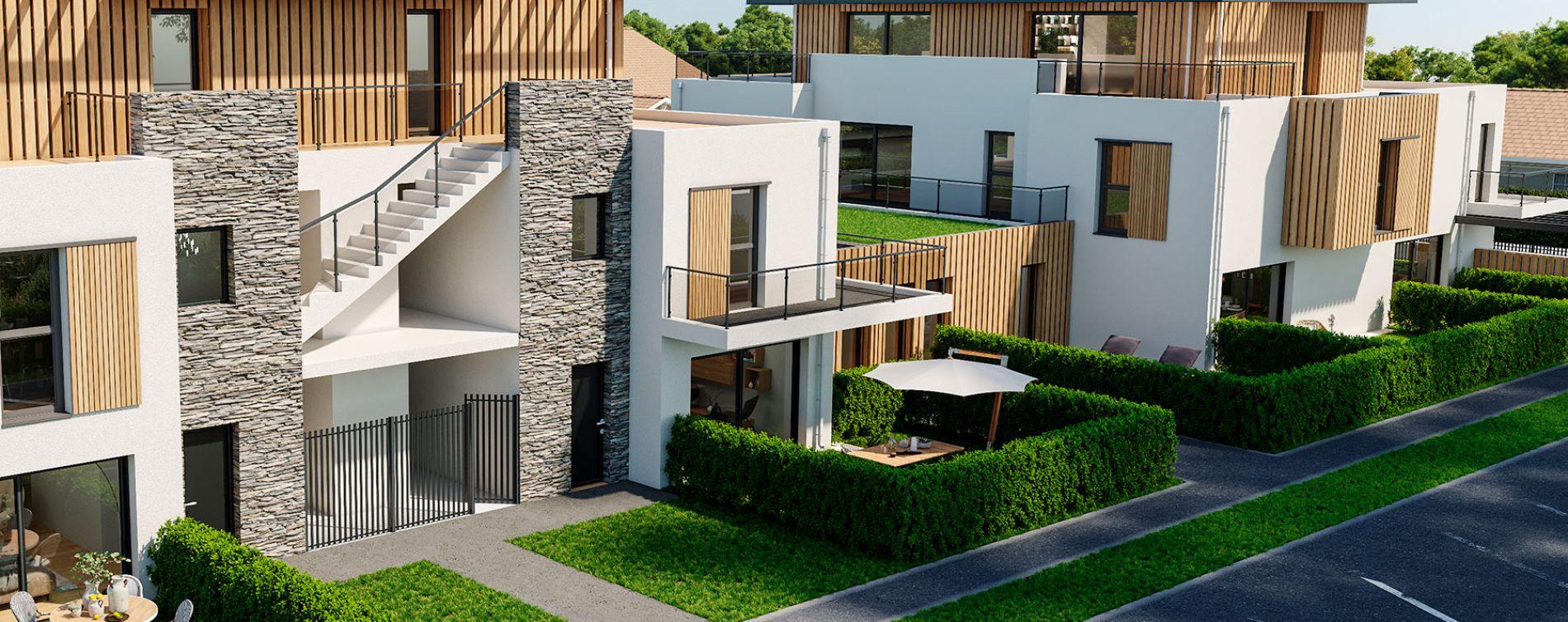 La Baule-Escoublac : programme immobilier neuve « Les Jardins d'Escoublac » en Loi Pinel