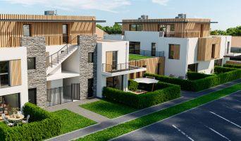 La Baule-Escoublac : programme immobilier neuf « Les Jardins d'Escoublac » en Loi Pinel