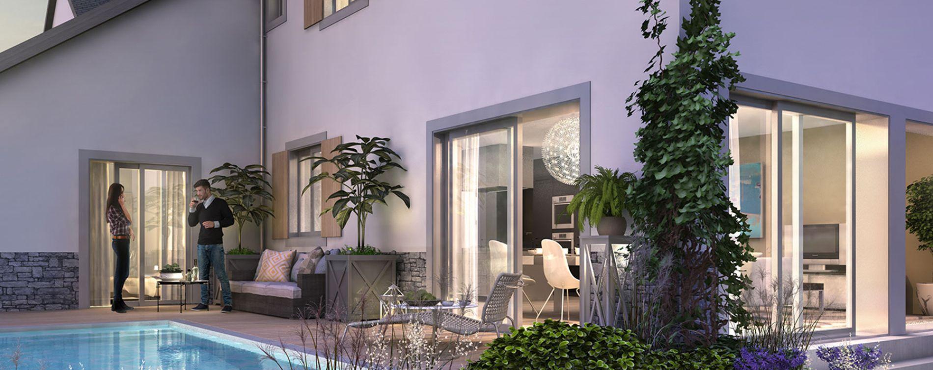 La Baule-Escoublac : programme immobilier neuve « Les Villas des Dunes »