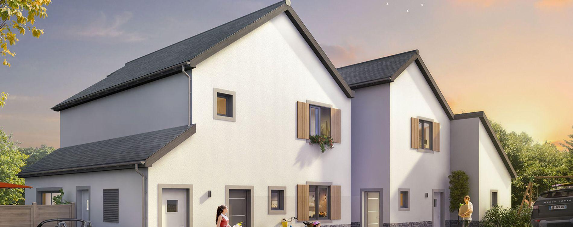 La Baule-Escoublac : programme immobilier neuve « Les Villas des Dunes » (3)