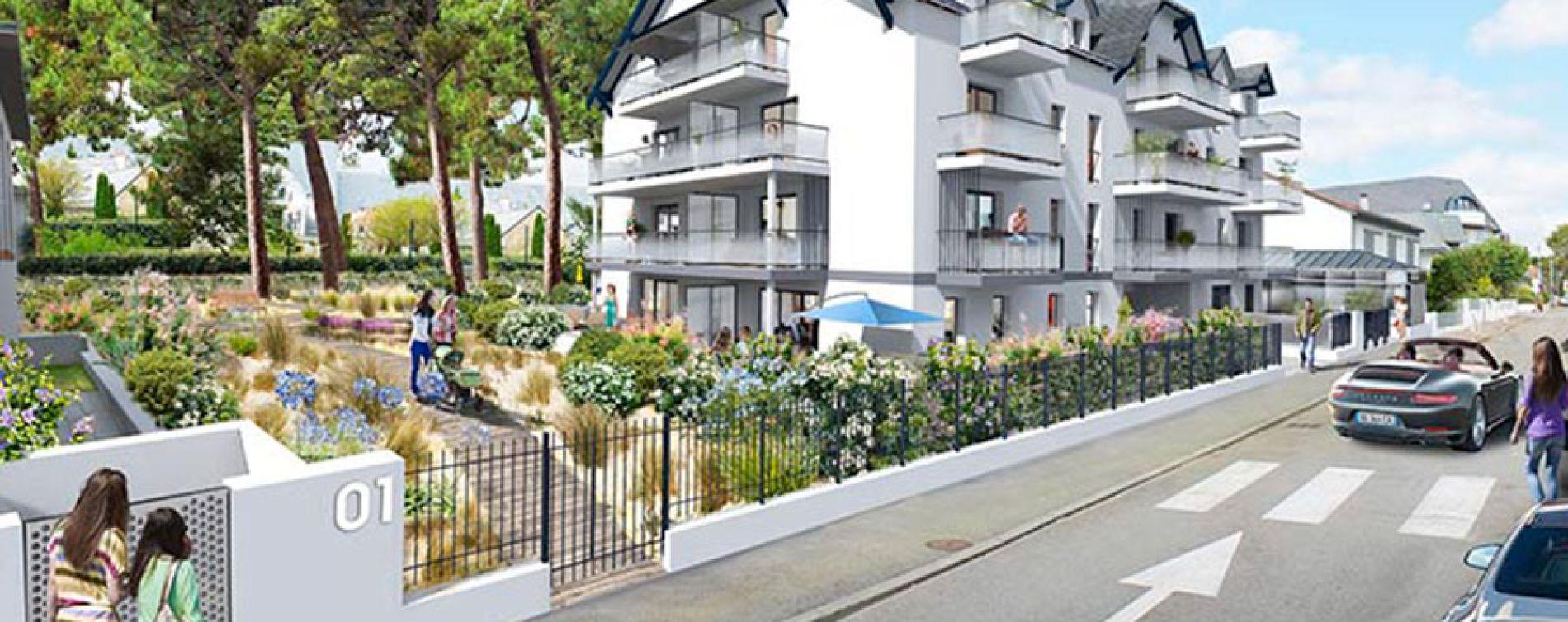 La Baule-Escoublac : programme immobilier neuve « Villas Sophia »