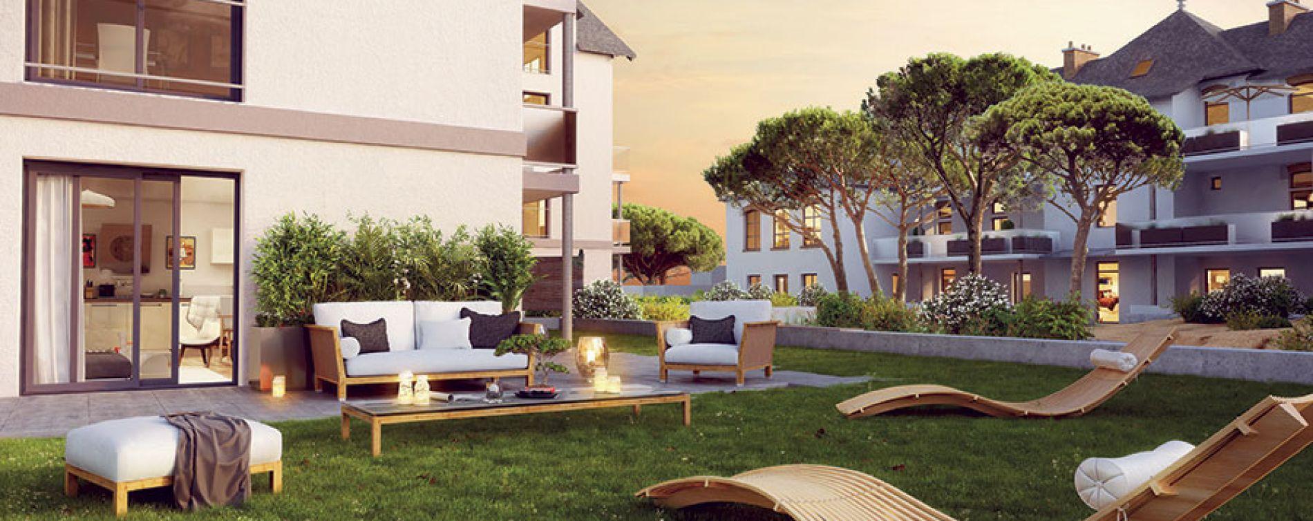 La Baule-Escoublac : programme immobilier neuve « Villas Sophia » (3)