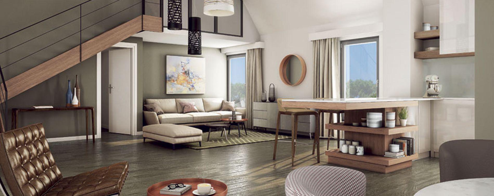 La Baule-Escoublac : programme immobilier neuve « Villas Sophia » (4)