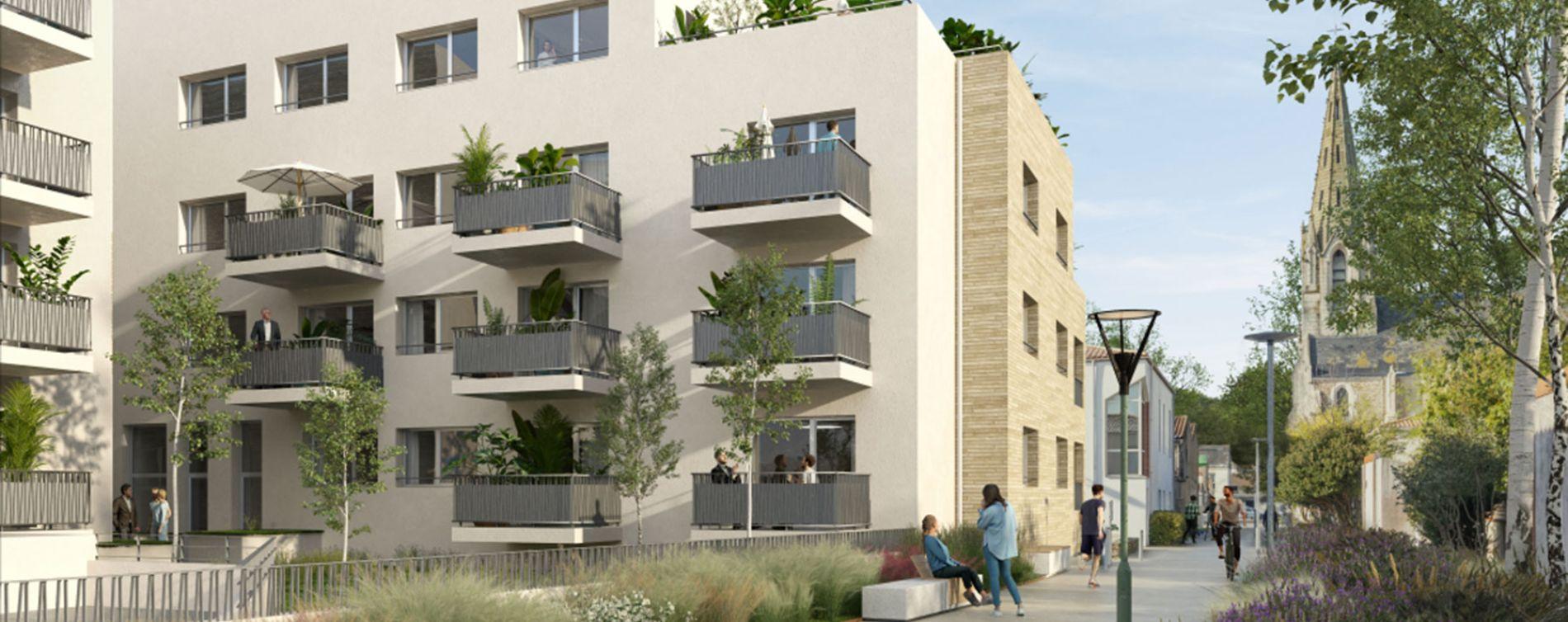 Les Sorinières : programme immobilier neuve « Le Georges » en Loi Pinel (2)