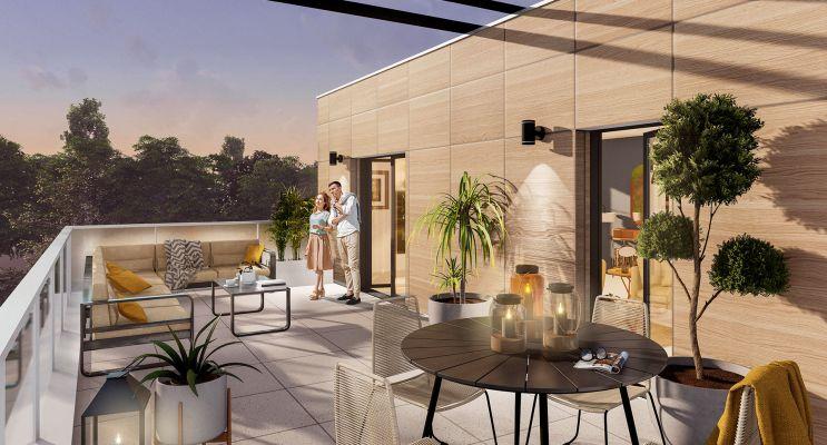 Photo du Résidence « Les Pleiades » programme immobilier neuf en Loi Pinel à Les Sorinières