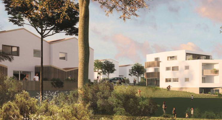 Mauves-sur-Loire : programme immobilier neuf « Le Parc du Prieuré » en Loi Pinel