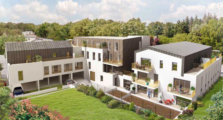 Photo du Résidence « Les Terrasses du Côteau » programme immobilier neuf en Loi Pinel à Mauves-sur-Loire