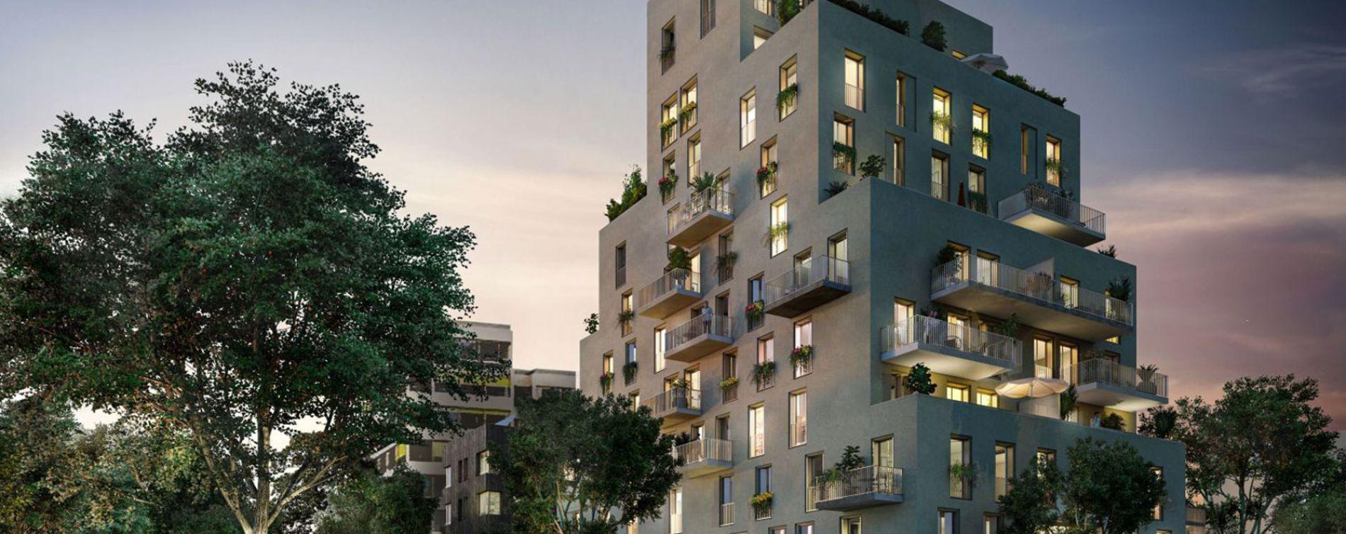 Nantes : programme immobilier neuve « Allure » en Loi Pinel