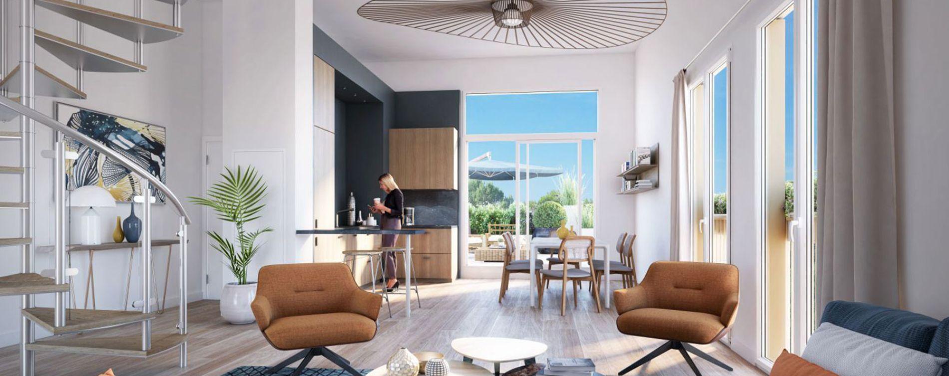 Nantes : programme immobilier neuve « Allure » en Loi Pinel (3)