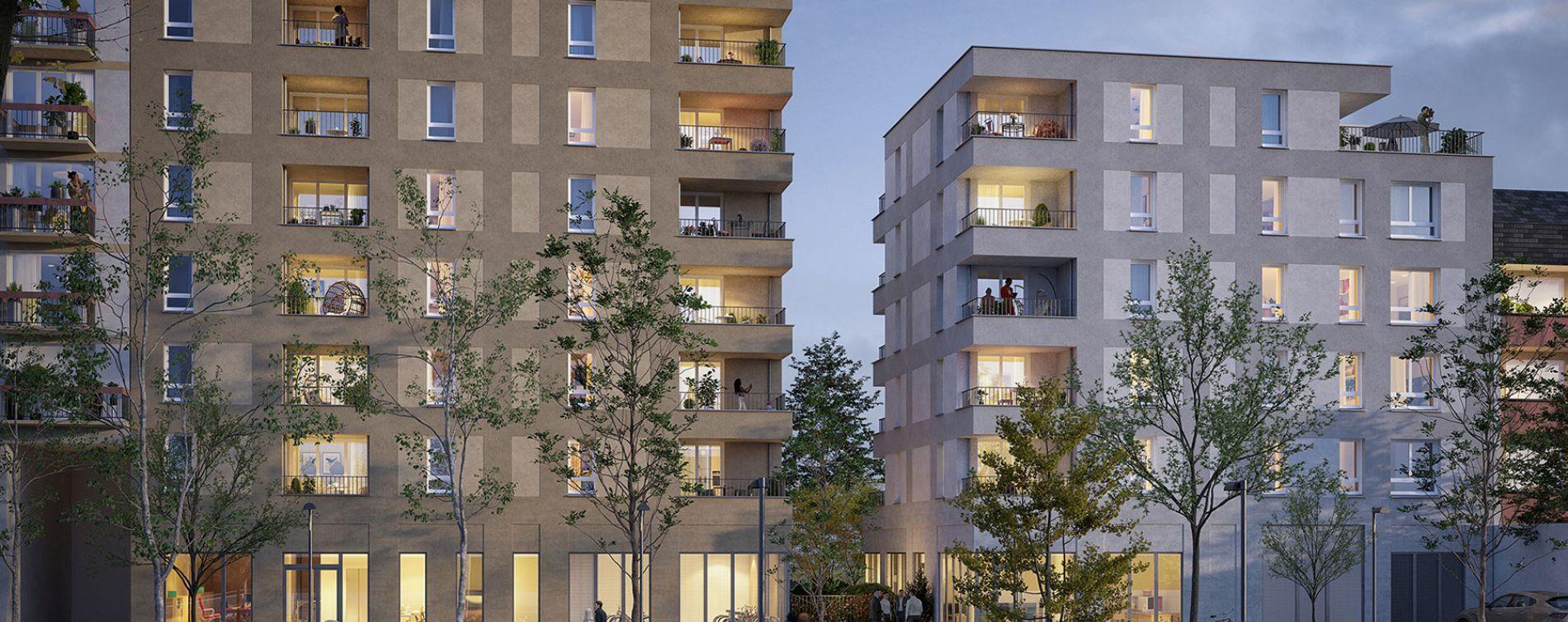 Nantes : programme immobilier neuve « Baccara » en Loi Pinel (2)