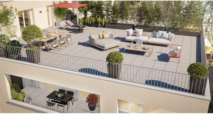 Nantes : programme immobilier neuf « Baccara » en Loi Pinel