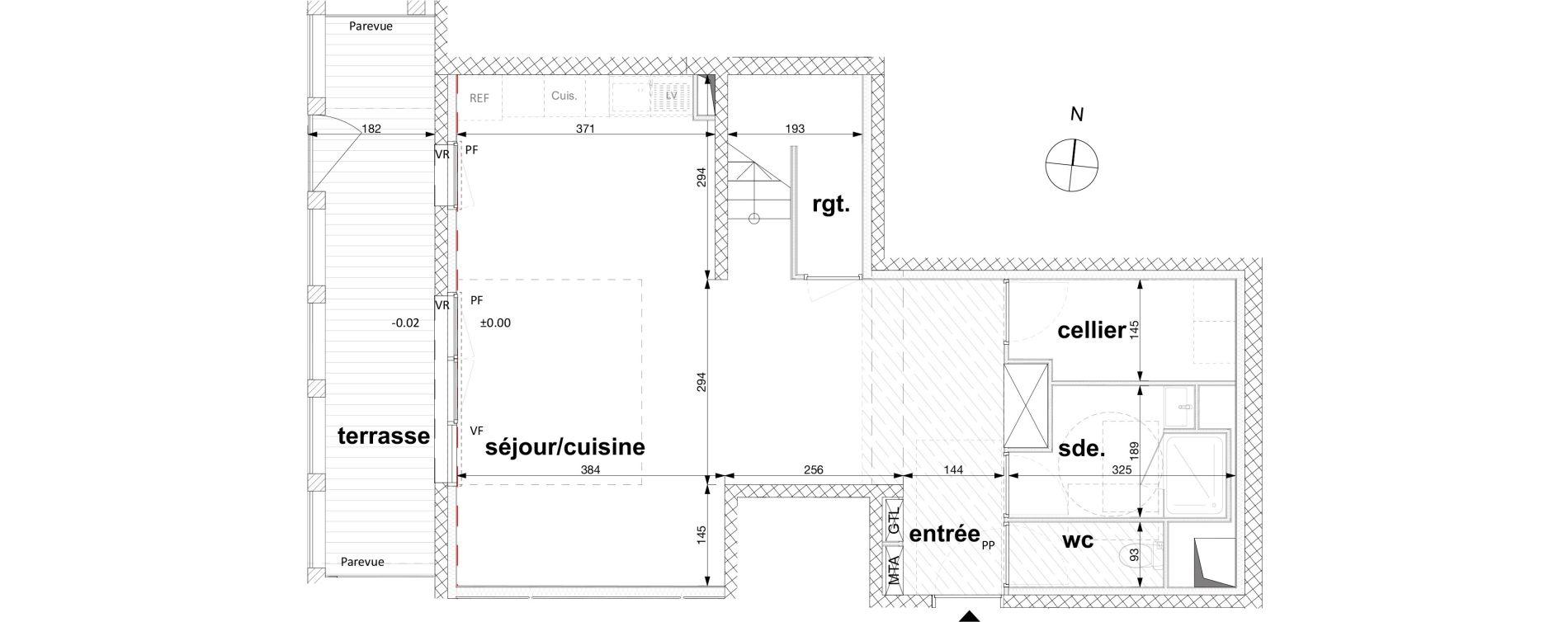 Appartement T4 de 106,00 m2 à Nantes Nantes république