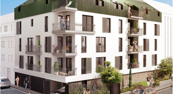 Photo du Résidence « Carré Grillaud » programme immobilier neuf en Loi Pinel à Nantes