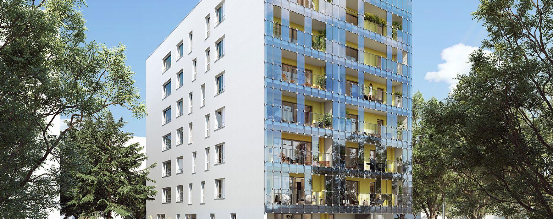 Nantes : programme immobilier neuve « Central Green »
