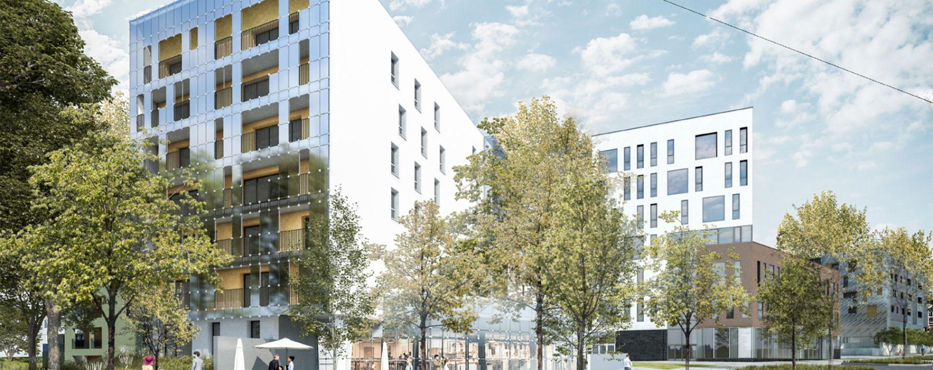 Nantes : programme immobilier neuve « Central Green » (2)