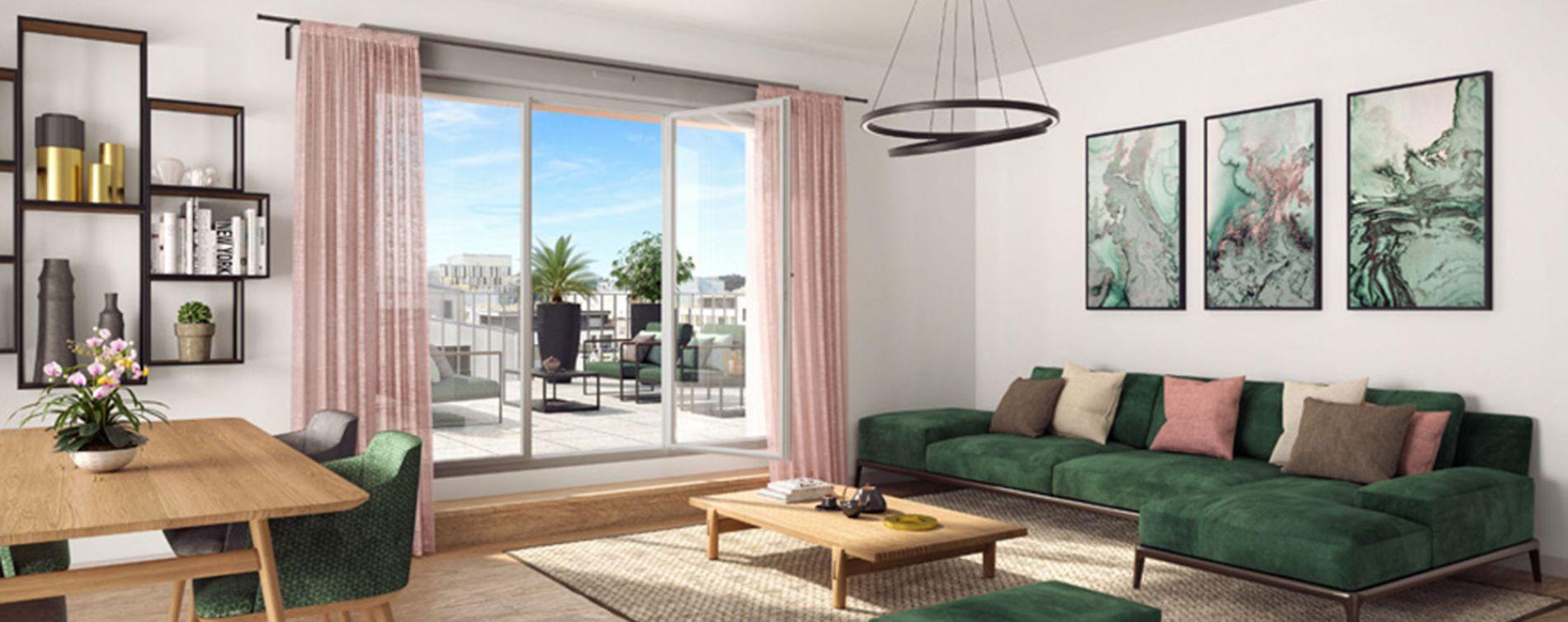 Nantes : programme immobilier neuve « Cosmopolitan » en Loi Pinel (4)