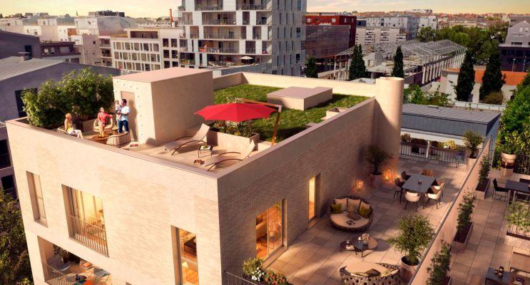 Photo du Résidence « Cosmopolitan » programme immobilier neuf en Loi Pinel à Nantes
