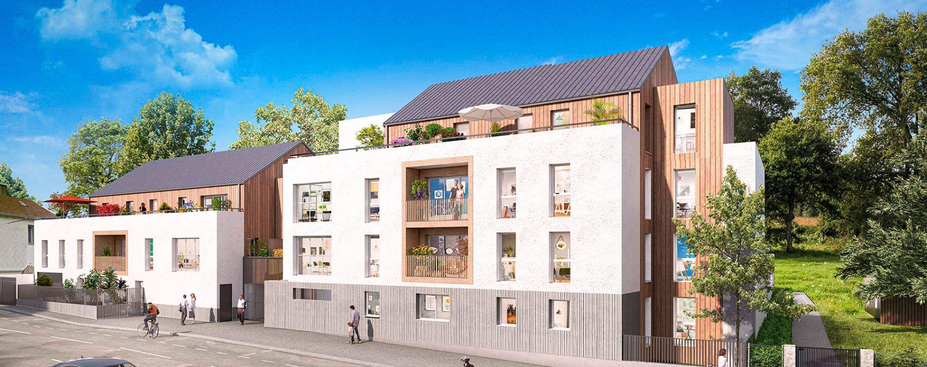 Nantes : programme immobilier neuve « Cosy Garden 2 »