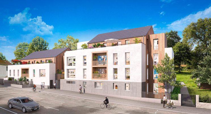 Photo du Résidence « Cosy Garden 2 » programme immobilier neuf en Loi Pinel à Nantes