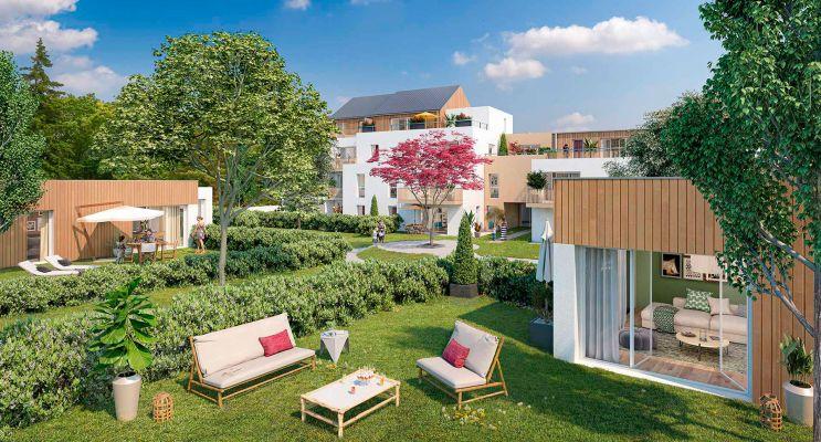 Nantes : programme immobilier neuf « Cosy Garden » en Loi Pinel