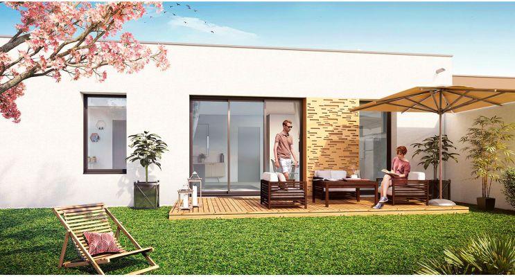 Photo du Résidence « Cours Lamartine Maisons » programme immobilier neuf à Nantes