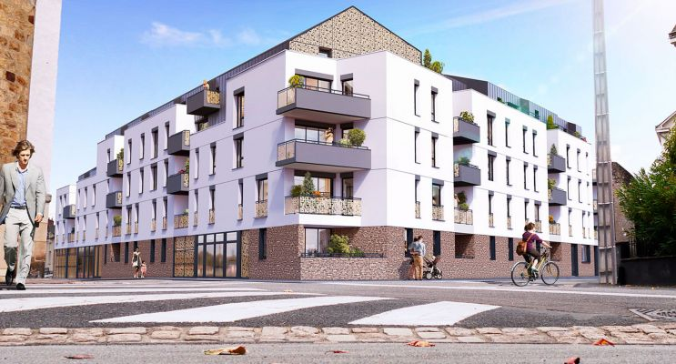 Résidence « Cours Lamartine » programme immobilier neuf en Loi Pinel à Nantes n°1