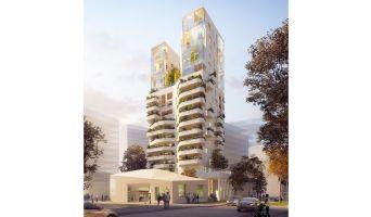 Photo du Résidence « Duo des Cimes » programme immobilier neuf en Loi Pinel à Nantes
