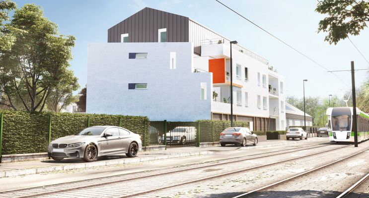Photo du Résidence « Equation » programme immobilier neuf en Loi Pinel à Nantes