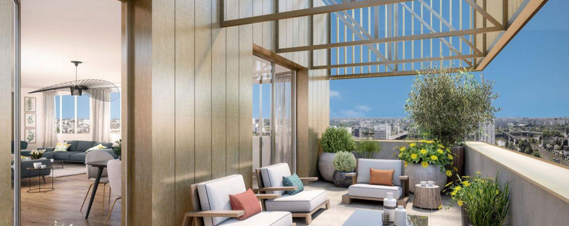 Nantes : programme immobilier neuve « Laô »