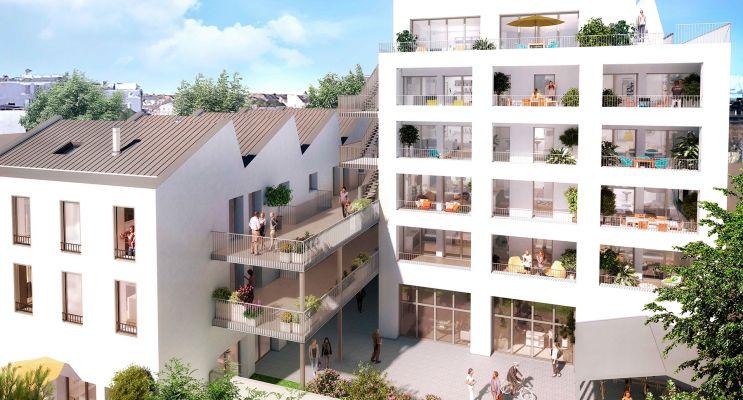 Photo du Résidence « L'Atypik - Nue-Propriété » programme immobilier neuf en Nue Propriété à Nantes