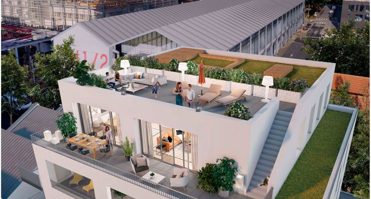 Photo du Résidence « L'Atypik » programme immobilier neuf en Loi Pinel à Nantes